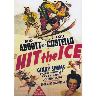 ABBOTT AND COSTELLO = HIT THE ICE = DVD(Australian Shipping Free)