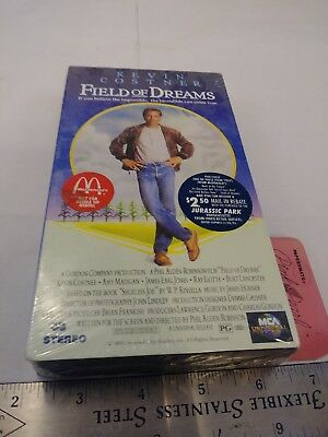 Field of Dreams (VHS, 1997) SEALED McDonalds