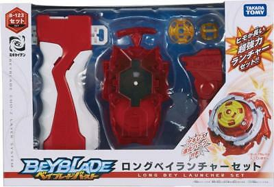 Takara Tomy Beyblade Burst B-123 Cho Z Beylauncher Grip Set Red