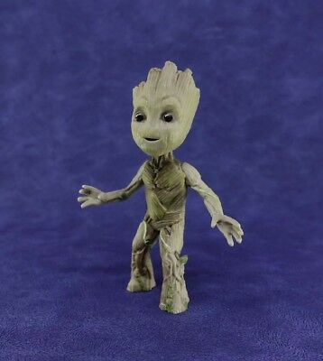 "Cute 2"" Guardians The Galaxy Vol. 2 Baby Standing Groot Action Figure Toy Gift"