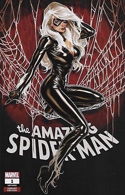 Marvel The Amazing Spider-Man #1 Black Cat Variant Cover A Mark Brooks Comic