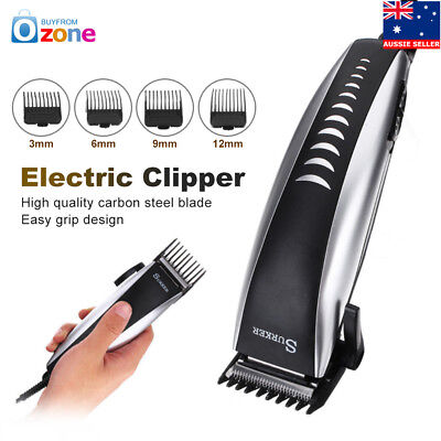 Professional Electric Hair Clipper Trimmer Cutting Beard Shaver Grooming Kit Set