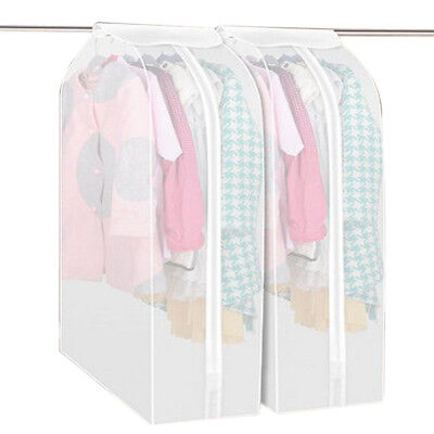Home Garment Clothing Dress Suit Coat Dust Cover Protector Wardrobe Storage Bag