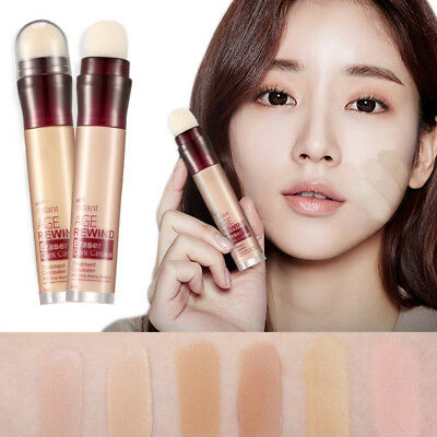 6 Color Makeup Cream Face Eye Foundation Concealer Highlight & Contour Pen Stick