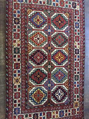 5'x7' Handmade Wool Rug Carpet Hand Knotted New ALL NATURAL DYES Antique Pattern