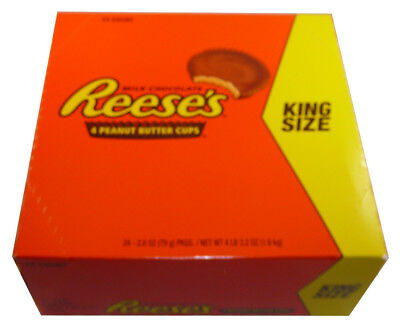 Reeses Peanut Butter 4 Cups Per Pack (24 x 79g )