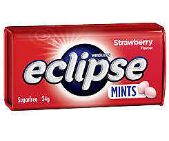 Eclipse Mints Strawberry (16 x 50pc Tins in a Display)