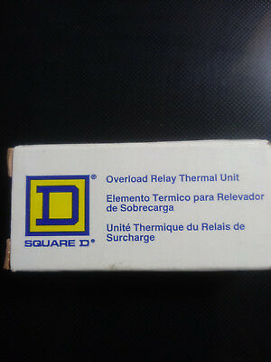 SQUARE D OVERLOAD RELAY THERMAL RELAY B40 x 3 NEW IN BOX