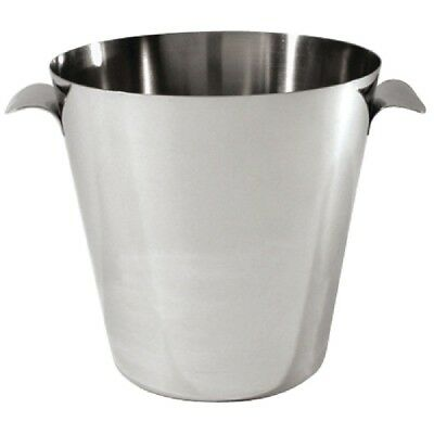Stainless Steel Ice Bucket With Handles | Wine Champagne Buckets Chiller