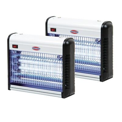 Special Offer 2 x Eazyzap Commercial Insect Bug Killers, Fly Zapper