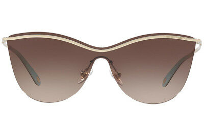 NWT TIFFANY&CO Butterfly Sunglasses TF3058 60213B Pale Gold/Brown Gradient 35mm