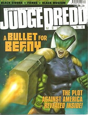 JUDGE DREDD MEGAZINE # 252 / 12th DEC 2006 / REBELLION / UK COMIC / V/G / 2000AD