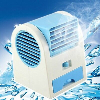 Usb Mini Air Conditioner Portable Fan Cooler Summer Cooling Rechargeable Hand