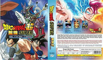 Dragon Ball Super 超 Complete DVD Series (1-131 END) ENGLISH DUB & SUB -BRAND NEW
