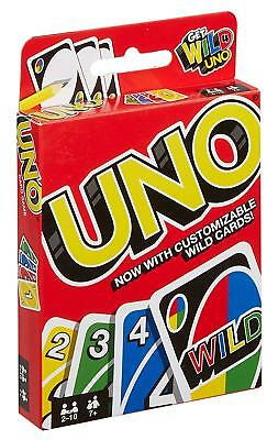Classic UNO Card Original Game Exciting Party Family Friends Entertainment Fun