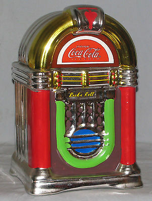 Gibson Coca Cola Cookie Jar Rock N Roll JukeBox Free Shipping