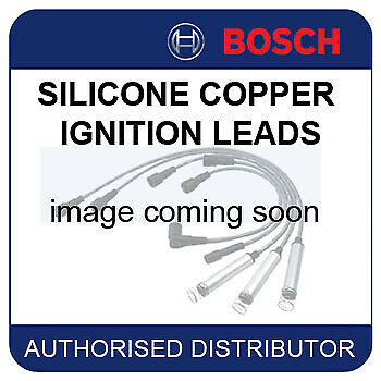 VW Polo 1.4 [6N2] 09.98-09.01 BOSCH IGNITION CABLES SPARK HT LEADS B341