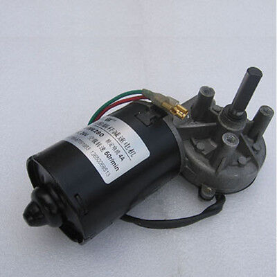 1PCS GW6280 Worm Gear Motor DC24V 50RPM Torque 50kg.cm For Volume Gate  - Right