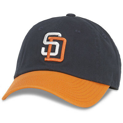 1ff759f88 San Diego Padres American Needle Bleacher MLB Adjustable Slouch Crew Hat