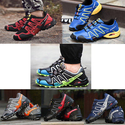 Men's Athletic Sneakers Outdoor Hiking Trainers Sport Running Casual Boots Shoes