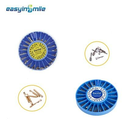 NEW Easyinsmile 100pc/1PACK * Dental Stainless Steel Screw Posts Kits Assorted