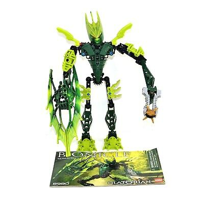 Lego Bionicle Glatorian Gresh Set 8980 Complete With Instructions No