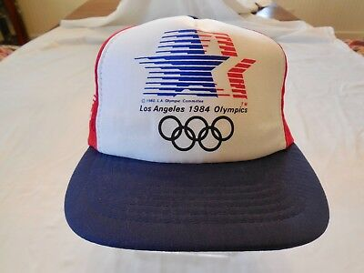 0fdc7ea375c Like us on Facebook · Vintage 1984 Los Angeles Olympic Games Adidas Cap