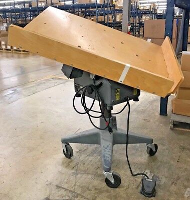 """Challenge Paper Jogger w/ Foot Pedal, Model A, 40""""x28"""" Table Size (S/N: 4825)"""