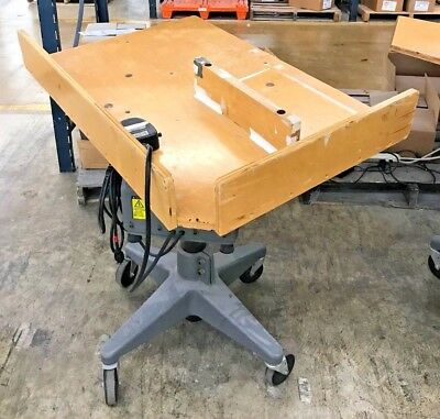 """Challenge Paper Jogger w/ Foot Pedal, Model A, 36""""x24"""" Table Size (S/N: 4789)"""