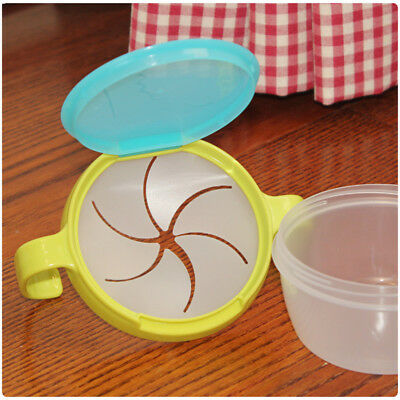 Infants Anti Spill Snacks Bowl Food Storage Dishes 360 Rotate Baby Feeding Stuff