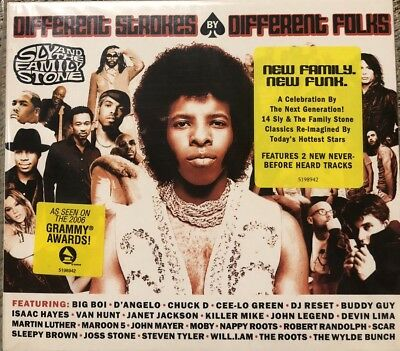 SLY AND THE FAMILY STONE - DIFFERENT STROKES FOLKS   Cd Nuevo Precintado 3