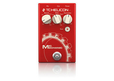TC-Helicon Mic Mechanic 2 Vocal Effects GENTLY USED