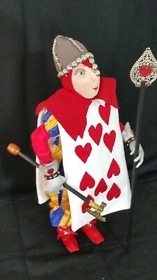 """*new* Cloth Art Doll (Paper) Pattern """"Queen'S Guard Card"""" By Suzette Rugolo"""