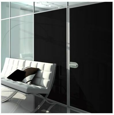 Window Film Blackout Non Adhesive Static Cling 3ft x 6ft Sheet - w/Install Tools