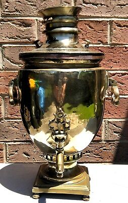Antique Russian Charcoal Samovar - Piece of Nostalgic History