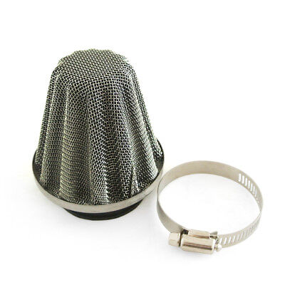 42mm Air Filter Fit Scooter ATV Quad Pocket Dirt Pit Bike Stainless Steel