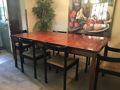 Gorgeous Imported Rosewood Table and chairs