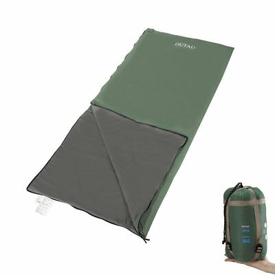 OUTAD Sleeping Bag Lightweight Portable Waterproof Comfort for Camping Hiking AS