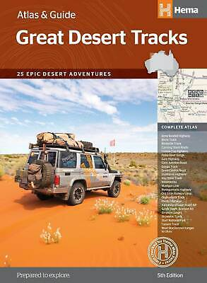 Great Desert Tracks Atlas & Guide A4 Spiral 5th Edition (FREE SHIPPING)