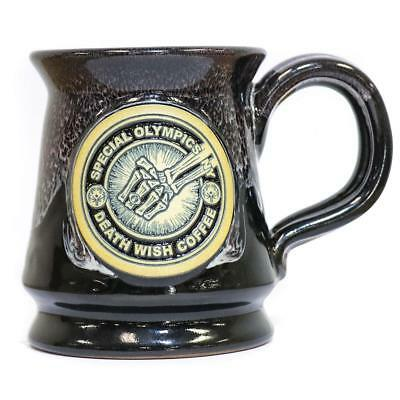 2018 Death Wish Coffee Co Special Olympics Ceramic Mug Sold Out Very Limited 750