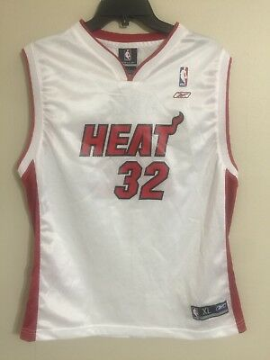 05215305b15 ... sale shaquille shaq oneal miami heat nba basketball jersey white youth  xl mens f3ad0 19c6e