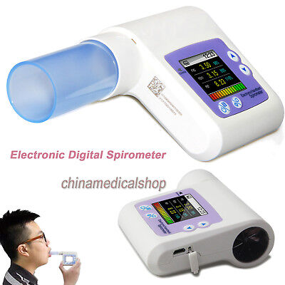 Lung Function Spirometer Spirometry CONTEC Digital Monitor for healthcare SP10