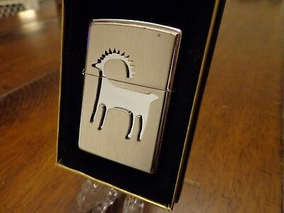 Southwest Series Elk Zippo Lighter Mint In Box
