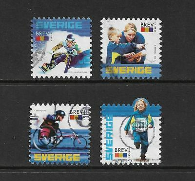 SWEDEN 2003 Centenary Swedish Sports Federation, set of 4, used