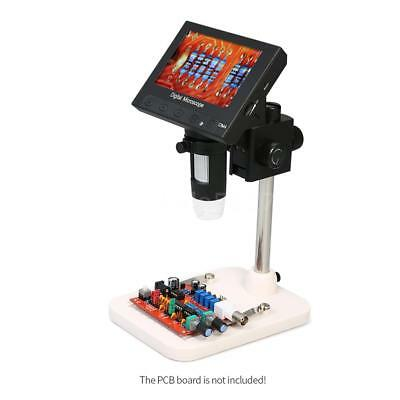 """1000X 5.0MP 4.3"""" LCD 720P Microscope Digital Magnifier Tool USB with Holder"""