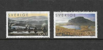 SWEDEN 2004 World Heritage Sites, Laponia, set of 2, used