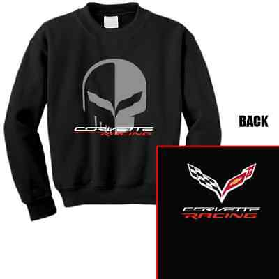 Chevrolet Corvette Racing Jake Skull Sweatshirt Shirt
