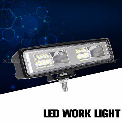 48W LED Work Light 12V 24V Square Spot Off Road Car Lamps Truck Boat SUV 4x4