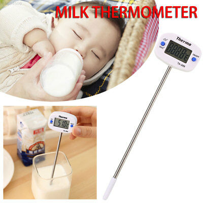 7E5A Device Tools Cooking Temperature Gauge Convenient with Probe White Home