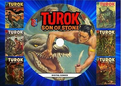 Turok Son Of Stone Gold Key Comics On DVD Rom